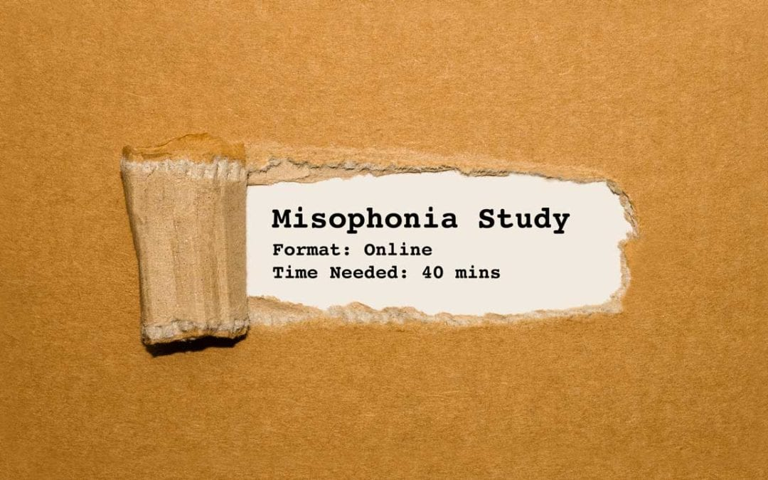 Misophonia Online Survey (Important)